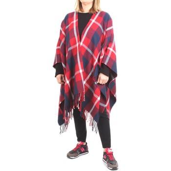 Vêtements Femme Vestes / Blazers Woolrich WWACC1288 Pelerine femme rouge rouge