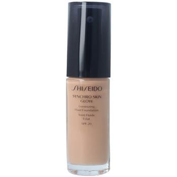 Beauté Femme Fonds de teint & Bases Shiseido Synchro Skin Glow Luminizing Fluid Foundation r5 30 ml