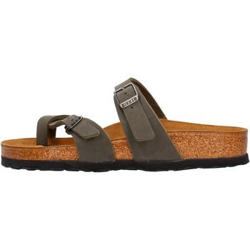 Chaussures Homme Mules Birkenstock - Mayari verde militare 1014434 MARRONE