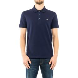 Vêtements Homme Polos manches courtes Lacoste ph4014 166 marine bleu