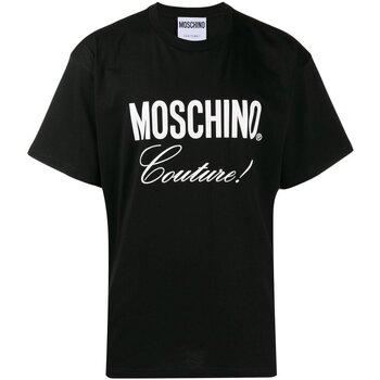 Vêtements Homme T-shirts manches courtes Love Moschino ZA0710 Noir