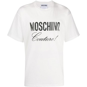 Vêtements Homme T-shirts manches courtes Love Moschino ZA0710 Blanc