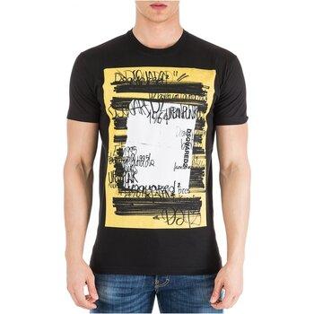 Vêtements Homme T-shirts manches courtes Dsquared S71GD0741 Noir