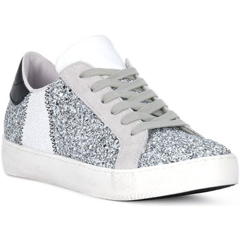 Chaussures Homme Multisport At Go GO GLITTER BIANCO Bianco