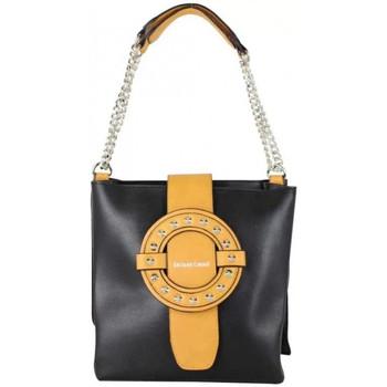 Sacs Femme Sacs porté épaule Jacques Esterel Sac seau  déco grosse boucle et chaîne noir Multicolor