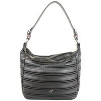 Sacs Femme Sacs porté épaule Patrick Blanc Sac seau  April imitation motif plissé noir Multicolor