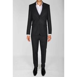 Vêtements Homme Costumes  Kebello Costume coupe classique H Noir Noir