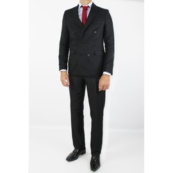 Vêtements Homme Costumes  Kebello Costume croisé H Noir Noir