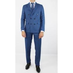 Vêtements Homme Costumes  Kebello Costume croisé H Bleu Bleu
