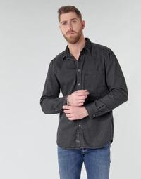 Vêtements Homme Chemises manches longues Diesel D-BER-P Noir