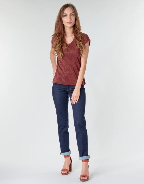 Vêtements Femme Jeans droit Lee MARION STRAIGHT Rinse