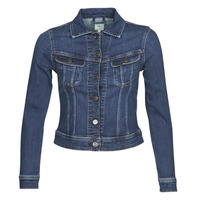 Vêtements Femme Vestes en jean Lee SLIM RIDER JACKET Dark hunt