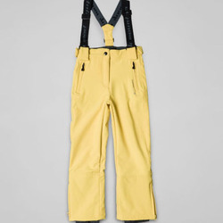 Vêtements Fille Pantalons Peak Mountain FASHELL jaune