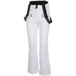 Vêtements Pantalons cargo Peak Mountain Pantalon de ski AFUZZA blanc