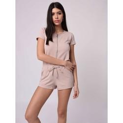 Vêtements Femme Combinaisons / Salopettes Project X Paris Combishort Beige
