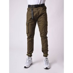 Vêtements Homme Pantalons cargo Project X Paris Pantalon Vert