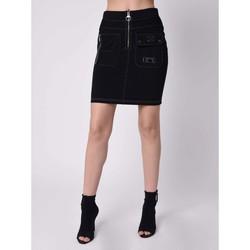 Vêtements Femme Jupes Project X Paris Jupe Noir