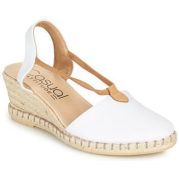 Chaussures Femme Sandales et Nu-pieds Casual Attitude IPOP Blanc
