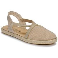 Chaussures Femme Sandales et Nu-pieds Casual Attitude MISSA Beige/or