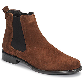 Chaussures Femme Boots Betty London NORA Marron croûte