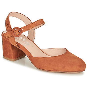 Chaussures Femme Escarpins Betty London MALINE Camel