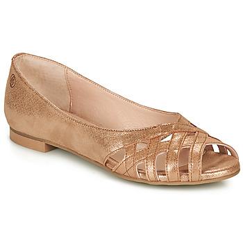 Chaussures Femme Sandales et Nu-pieds Betty London MANDINE Doré