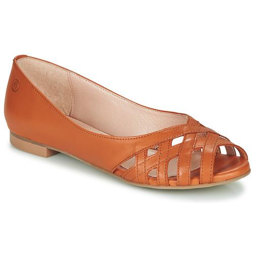 Chaussures Femme Sandales et Nu-pieds Betty London MANDINE Cognac