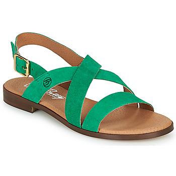 Chaussures Femme Sandales et Nu-pieds Betty London MATOSSI Vert