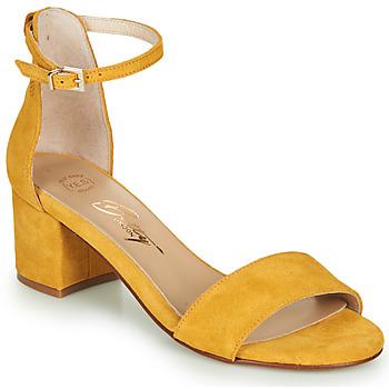 Chaussures Femme Sandales et Nu-pieds Betty London INNAMATA Jaune