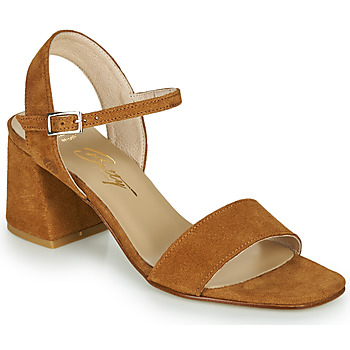 Chaussures Femme Sandales et Nu-pieds Betty London MAKITA Cognac