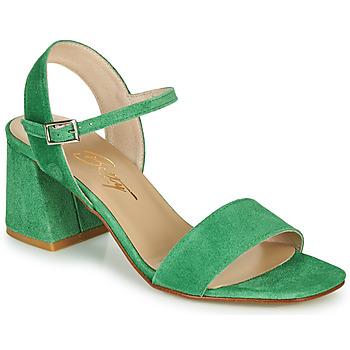 Chaussures Femme Sandales et Nu-pieds Betty London MAKITA Vert suede