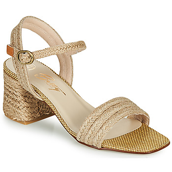 Chaussures Femme Sandales et Nu-pieds Betty London MILLO Beige