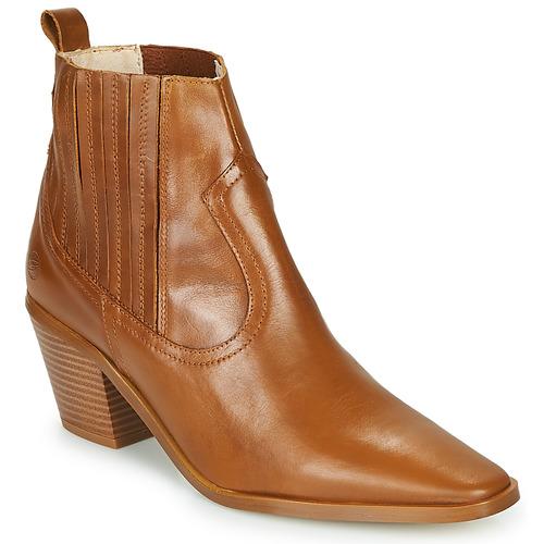Chaussures Femme Bottines Betty London MIRTA Cognac