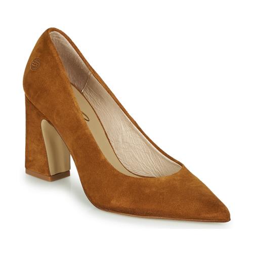 Chaussures Femme Escarpins Betty London MONDI Cognac