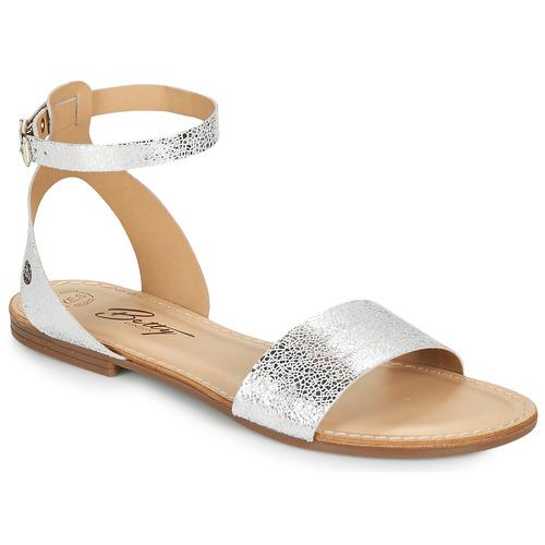 Chaussures Femme Sandales et Nu-pieds Betty London GIMY Argenté
