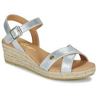 Chaussures Femme Sandales et Nu-pieds Betty London GIORGIA Argenté