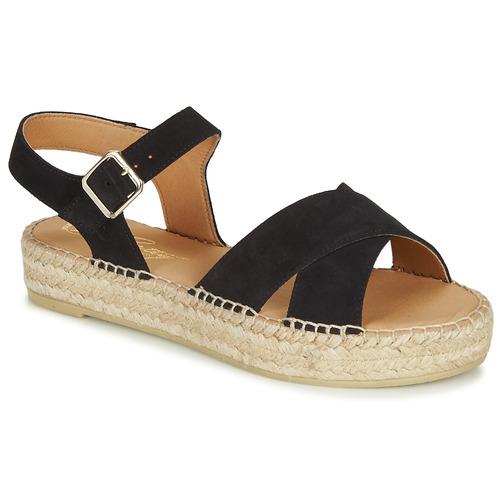Chaussures Femme Sandales et Nu-pieds Betty London MIZOU Marine