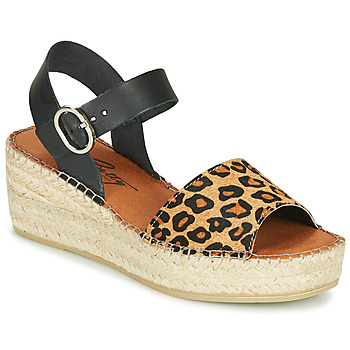 Chaussures Femme Sandales et Nu-pieds Betty London MARILUS Léopard