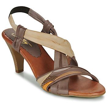 Chaussures Femme Sandales et Nu-pieds Betty London POULOI Camel