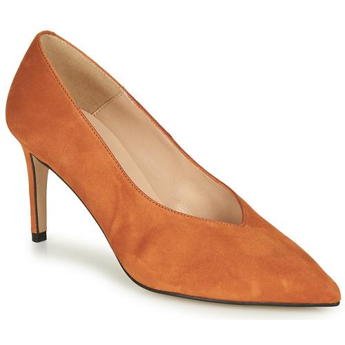 Chaussures Femme Escarpins Betty London MINATTE Cognac