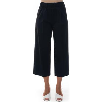 Vêtements Femme Pantalons fluides / Sarouels Blue Les Copains 0J30300131 Nero