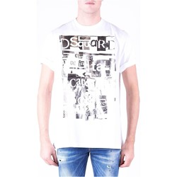 Vêtements Homme T-shirts manches courtes Dsquared S74GD0531 Blanc
