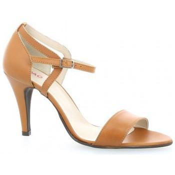 Chaussures Femme Sandales et Nu-pieds Vidi Studio Escarpins cuir Camel