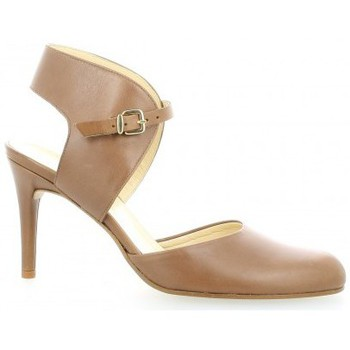 Chaussures Femme Escarpins Elizabeth Stuart Escarpins cuir Cognac