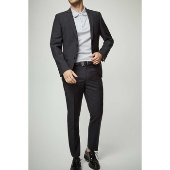 Vêtements Homme Costumes  Kebello Costume 2 boutons droit H Noir Noir