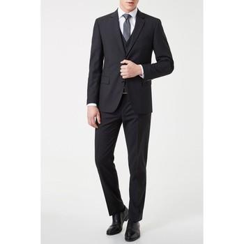 Vêtements Homme Costumes  Kebello Costume 3 pièces H Noir Noir