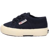 Chaussures Garçon Baskets basses Superga - 2750 lacci blu S0005P0 2750 933 BLU
