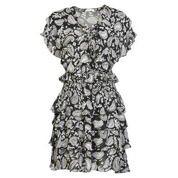 Vêtements Femme Robes courtes Replay  Noir / Blanc
