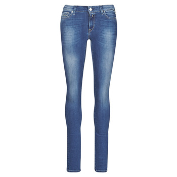 Vêtements Femme Jeans skinny Replay LUZ Bleu Foncé