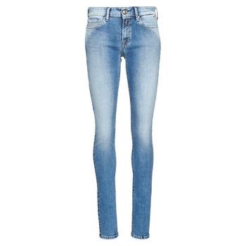Vêtements Femme Jeans skinny Replay LUZ Bleu Médium